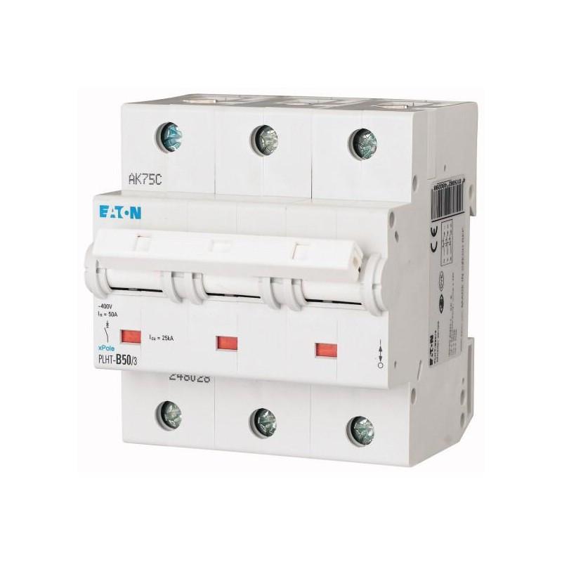 Автоматический выключатель PLHT-B50/3 (248028) Eaton 50A 3P 15kA