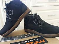 Ботинки кожаные зимние Columbia 34 т