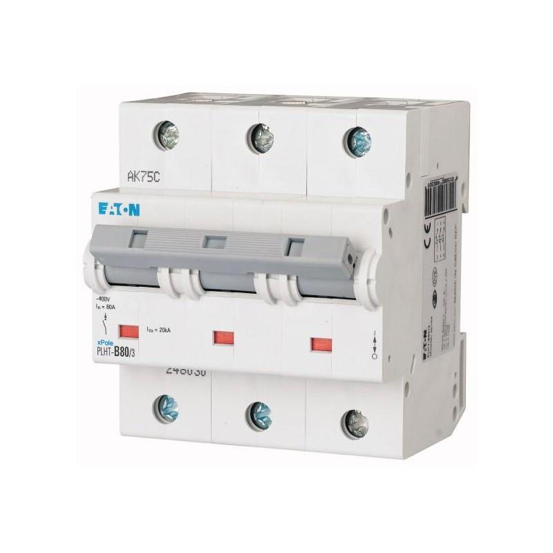 Автоматический выключатель PLHT-B80/3 (248030) Eaton 80A 3P 15kA