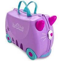 Trunki Детский дорожный чемоданчик Cassie cat 0322