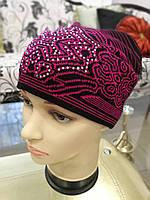 Женская шапка вязаная, фото 1
