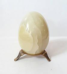 Яйцо из натурального оникса на подставке 7,5 см