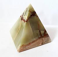 Пирамида из натурального оникса 9*9 см