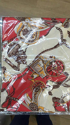 Платок-косынка Hermes шелк, фото 2