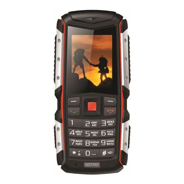 Телефон Astro A200RX Black/Orange