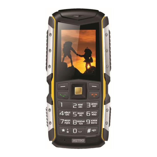 Телефон Astro A200RX Black/Yellow