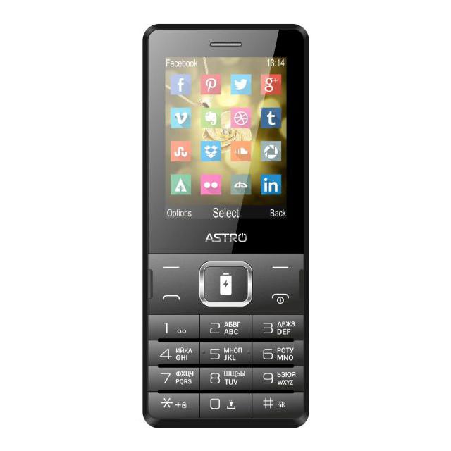 Телефон Astro B245 Black