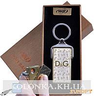 Зажигалка-брелок Dolce and Gabbana (USB, Спираль накаливания) №4824-1
