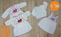Платье  детское вязанное на 6 мес.