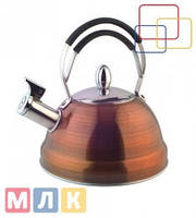 Fissman Чайник для кипячения воды CAIRO, 2,3 л (нержавеющая сталь)