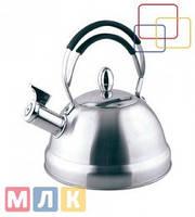 Fissman Чайник для кипячения воды BRISTOL, 2,3 л (нержавеющая сталь)