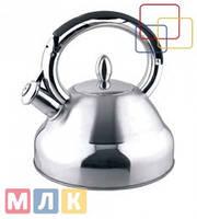 Fissman Чайник для кипячения воды OXFORD, 2,3 л (нержавеющая сталь)
