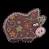 """Сувенир """"Свинка"""" нов."""