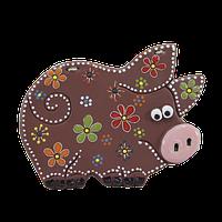 """Сувенир керамический """"Свинка"""" нов."""