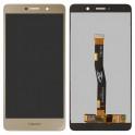 Дисплей (экран) для Huawei GR5 2017 с сенсором (тачскрином) золотистый