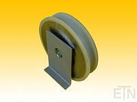 Ролики дверей лифта, VSL ø59,6 / 15 x 13 мм VU 96 ° 1 x Подшипник 6002 ZZ, включая опорную плиту, KONE, kone