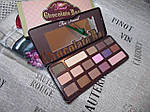 Палетка теней Chocolate Bar Eye Shadow Collection на 16 цветов, фото 3