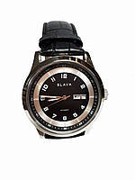 Часы кварцевые Слава SL-102 Черный