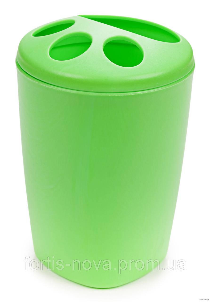 Подставка для зубных щеток Aqua (салатовый)