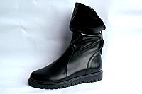 Женские ботинки кожаные зима опт