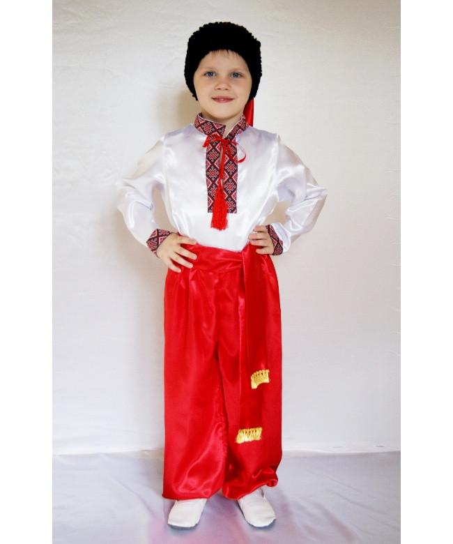 Детский карнавальный новогодний костюм Украинец № 1