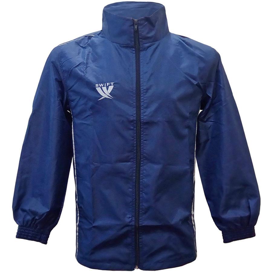 Куртка-ветровка Swift темно-синяя, L.
