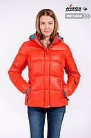 Женская зимняя куртка Avecs 7739711 Orange фанданго со снегозащитной юбкой недорого | Avecs куртка размер