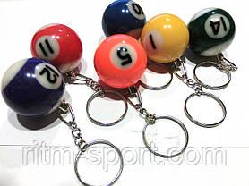 Брелок для ключей бильярдный шар (диаметр 3,2 см), фото 2