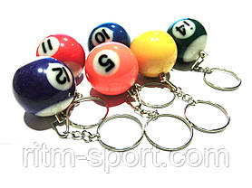 Брелок для ключей бильярдный шар (диаметр 3,2 см), фото 3