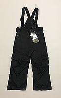 Лыжные термо штаны (чёрные) 104 см
