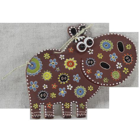 Сувенир керамический «Бегемот»