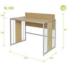 Письменный Стол (Стол для Ноутбука) Aluint Solo 101, фото 2