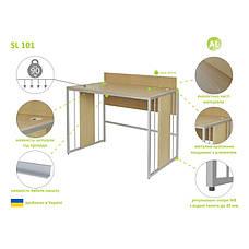 Письменный Стол (Стол для Ноутбука) Aluint Solo 101, фото 3