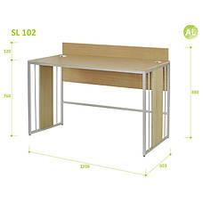 Письменный Стол (Стол для Ноутбука) Aluint Solo 102, фото 2
