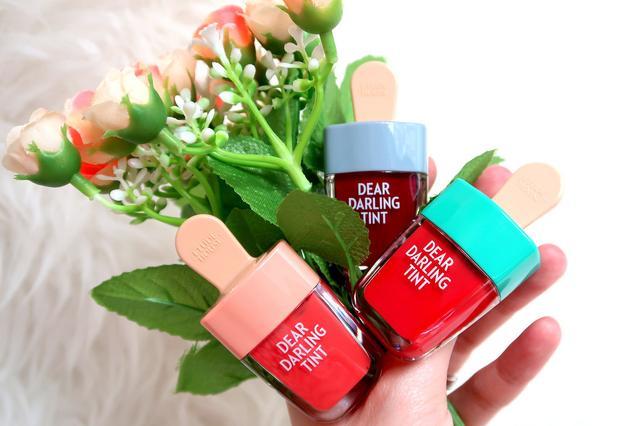 Etude House Dear Darling Water Gel Tint Shark Red