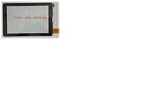 Сенсорное стекло (тачскрин)7 дюймов Explay hit, Supra, Texet, Mystery mid (черный)