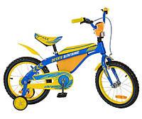 16 дюймов Двухколесный велосипед Profi 16BX405UK