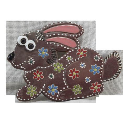 Сувенир керамический «Кролик»