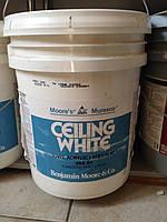 Краска для потолка 18,9л ведро  Ceiling White