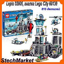 Lepin 02006 Остров-тюрьма, аналог Lego City 60130