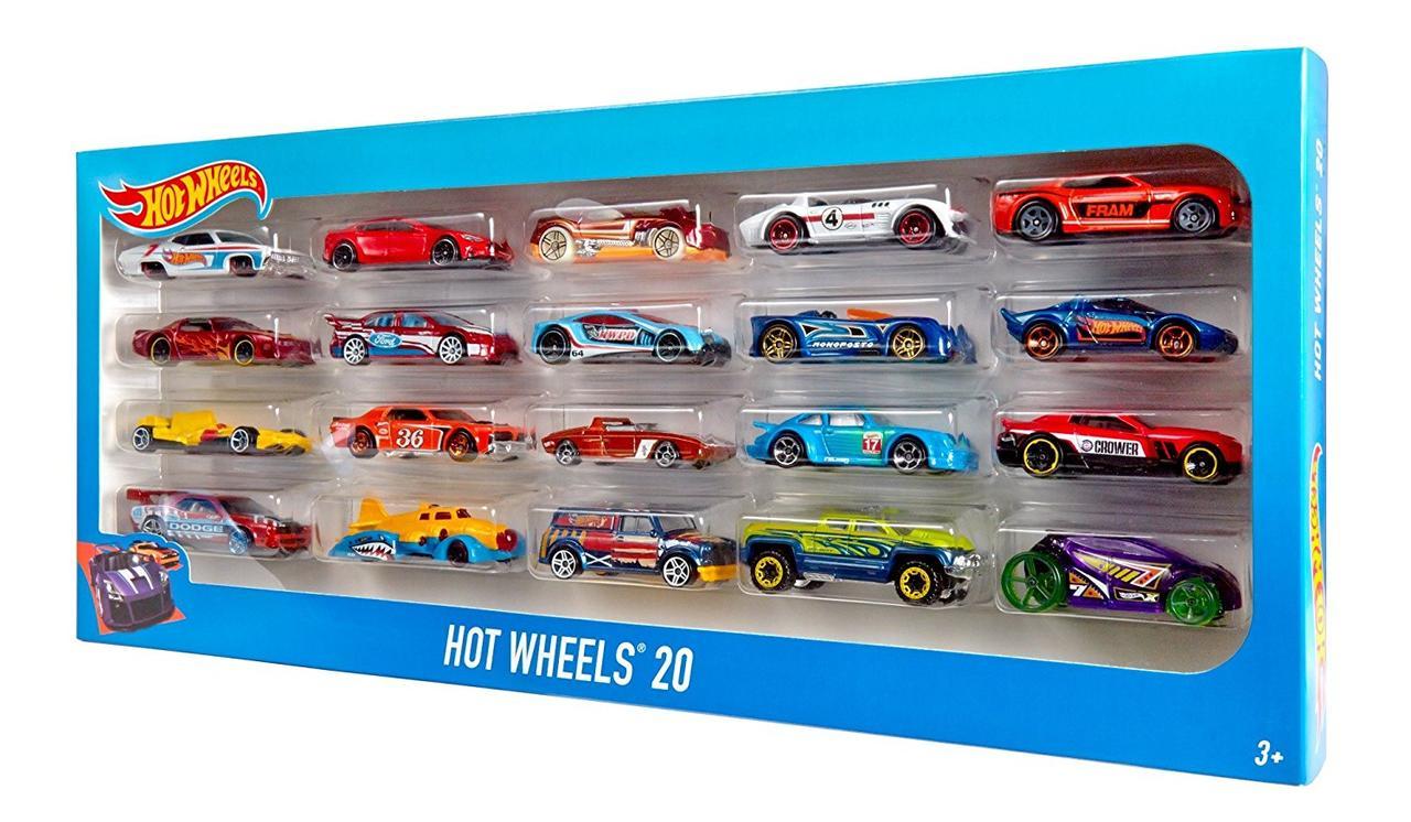 Игровой набор Хот вилс Hot Wheels™ Набор машинок (20 шт.) H7045