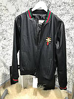 Куртка мужская Gucci Bee Jacket 18067 черная