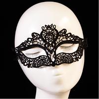 Кружевная карнавальная, новогодняя маска PS2551