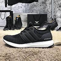 Кроссовки мужские Adidas Ultra Boost 3.0 Continental 18133 черные