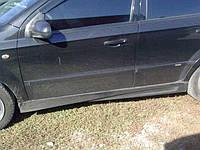 Накладки на пороги для Dacia (Модель №2), Дача
