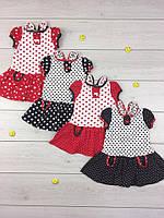 Платье летнее для девочки 1209 Веснушка, хлопок, р.р. 26-34