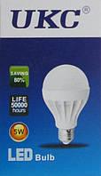 Led Лампа лампочка Ukc 5W, E27-TDN