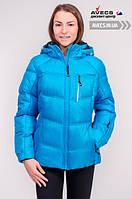 Женская зимняя куртка Avecs 7749500 Blue на тинсулейте теплая для суровых зим недорого | Avecs куртка размер