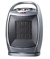 Тепловентилятор Hommer Ceramic, мощность 1,5 кВт, поворотный, световой индикатор, быстрый нагрев воздуха