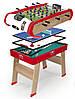 Дерев'яний напівпрофесійний стіл Smoby Power Play 4 в 1 (640001)